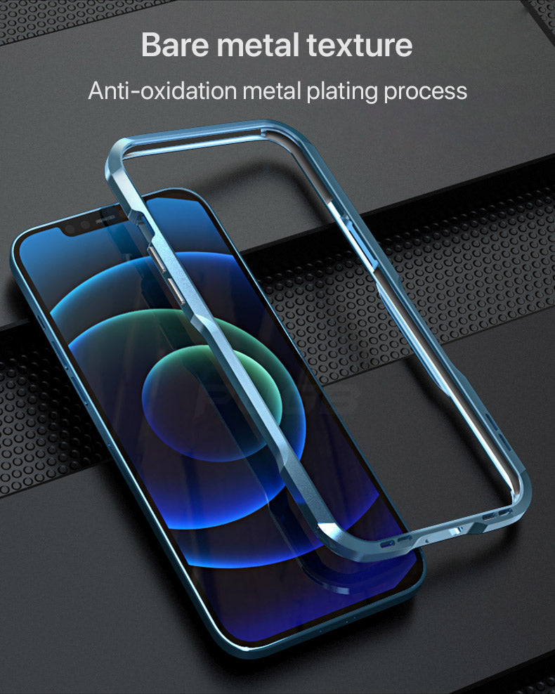 Luxury Ergonomic Square Metal Frame Phone Case For iPhone 12 Pro MAX Shockproof Bumper Protection Frame Heavy Duty Case for iPhone 12 Mini Pro Max