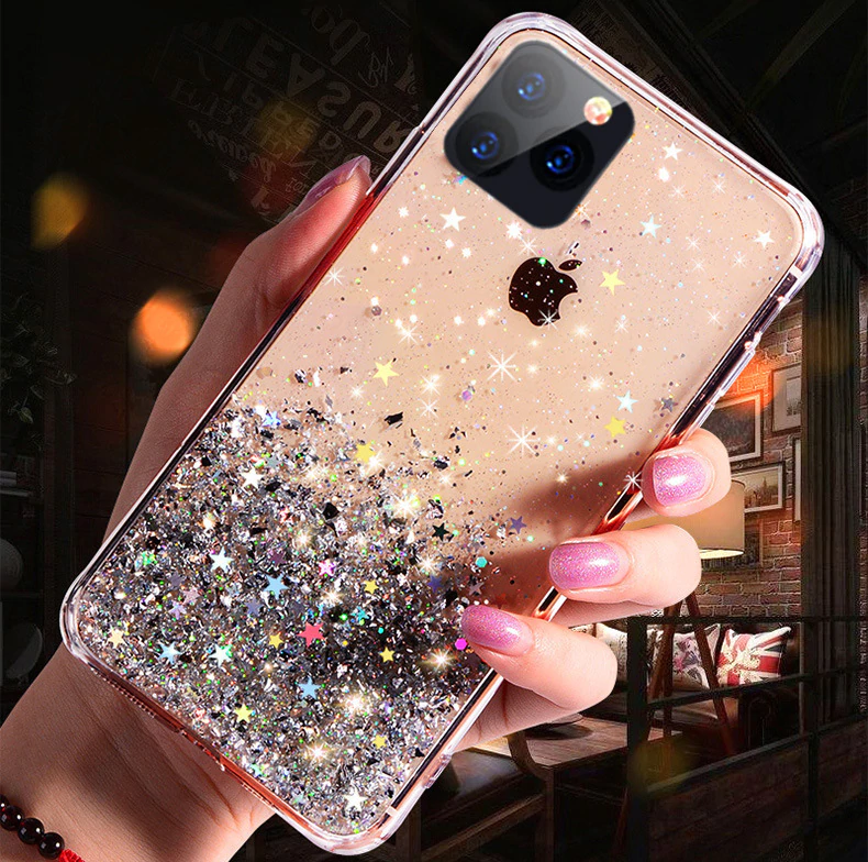 "<img src=""https://cdn.shopify.com/s/files/1/0085/8400/3702/files/Luxury_Fashion_Deluxe_Bling_Glitter_Transparent_Phone_Case_For_iPhone_7_8_6_6S_11_Pro_X_XS_Max_XR_Soft_Silicon_Cover_New_Cases_For_iPhone_2.png?v=1576877976"" alt=""Luxury Fashion Deluxe Bling Glitter Transparent Phone Case For iPhone 7 8 6 6S 11 Pro X XS Max XR Soft Silicon Cover New Cases For iPhone"">"