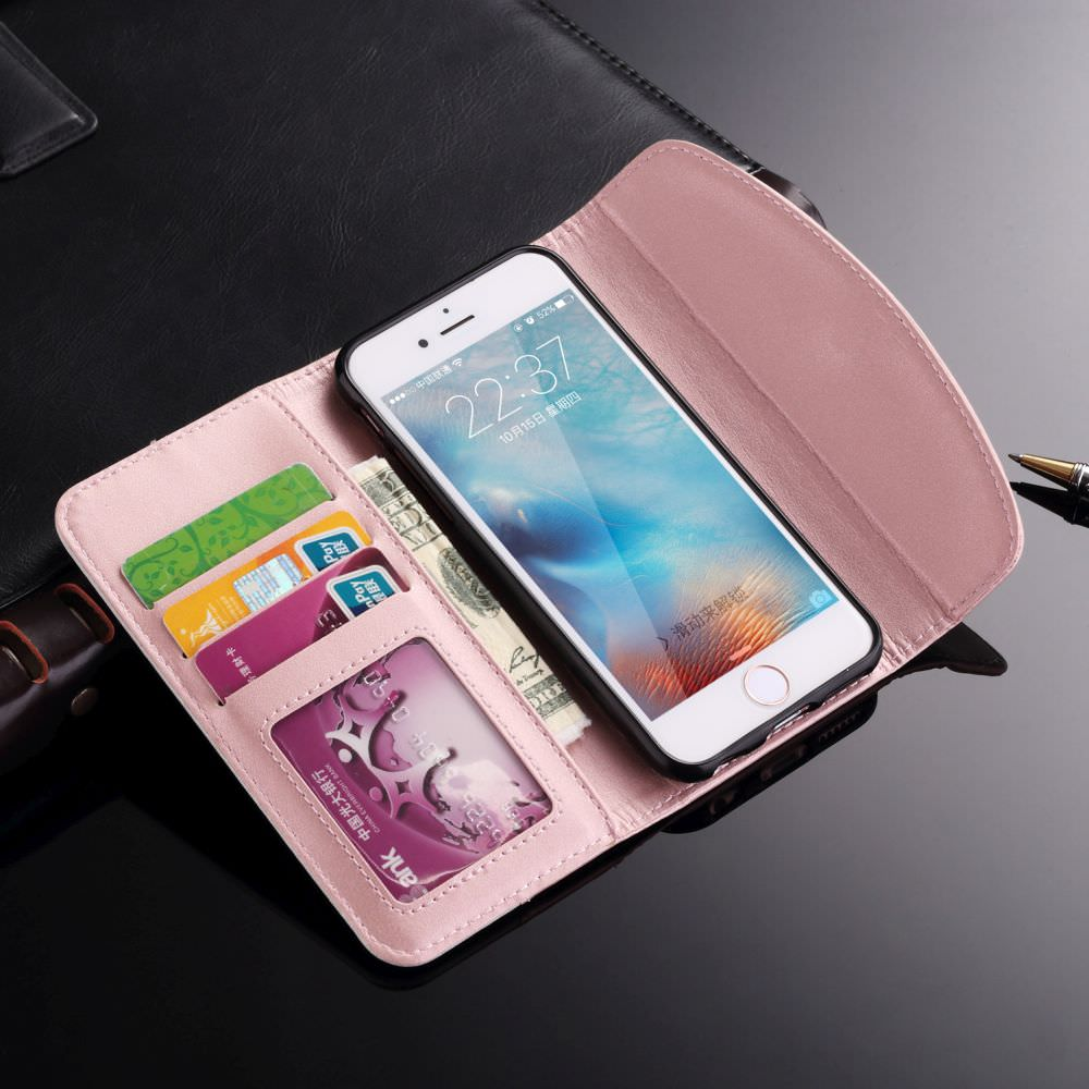 Luxury Handbag Clutch Case Design Phone Case For iPhone Xr X Xs 11 Pro Max Cover For iPhone 7 8 6S 6 Plus 5C 5 S SE Lovely Women's Phone Case