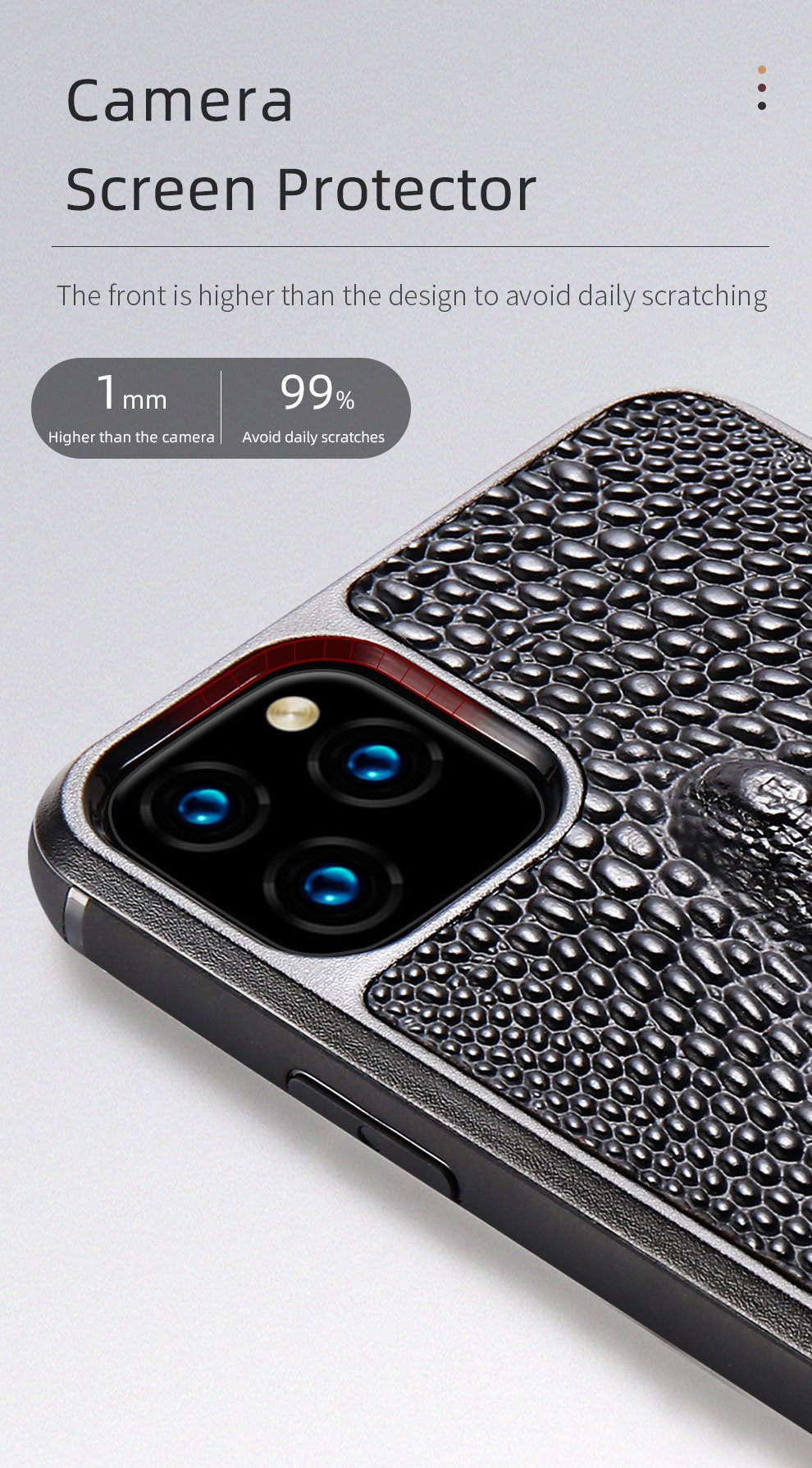 Luxury Leather 3D Crocodile Textured Phone Case For Apple iPhone 11 11 Pro Max X XS XS Max XR 7 8 6 6s 7 Plus 8 plus Made From Natural Cow Hide Leather