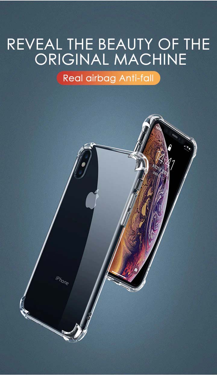 Luxury Transparent Half Wrapped Shockproof Silicone Case For iPhone 11 X XR XS Max Case 13 12 11 Pro Max 8 7 6s Plus Back Cover