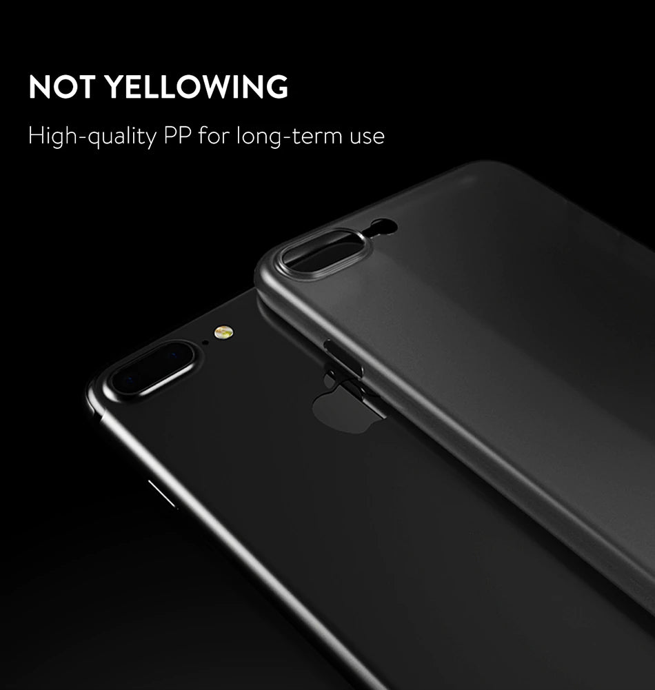 Luxury Ultra Thin Smooth Micro Matte Phone Case PP Case For iPhone X Cases For iPhone X Accessories Phone Cover