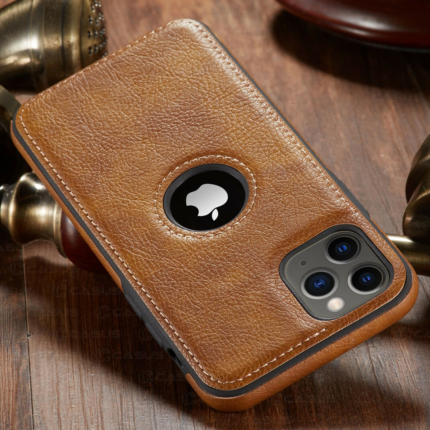 Luxury Vintage Leather Stitching Wallet Case For iPhone 11 11 Pro 11 Pro Max Case PU Leather Magnetic Flip Cover Business Case for iPhone 12 Pro Max XR X 8 7 6 6S