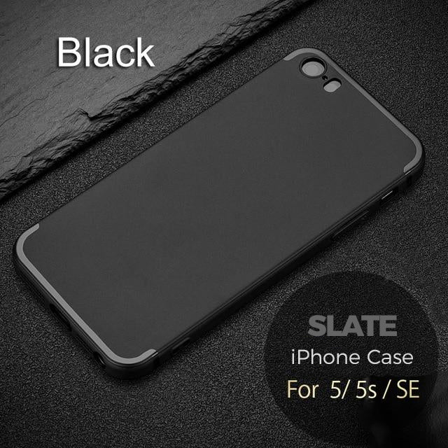 Matt Finish Executive Business Phone Case for iPhone 5S Case 5 SE Protective Rubber TPU Silicone Ultra-Thin 0.8mm Anti-Finger Print Executive Phone Case for iPhone