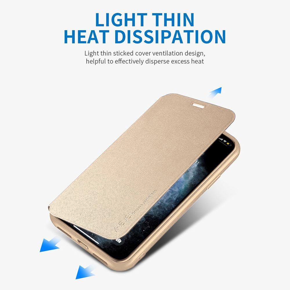 Modern Elegant Extremely Slim And Ultra Light PU Leather Flip Case For iPhone 11 Pro XS Max Xr X 6 6S 7 8 SE 2020 Plus Soft Cover Flip Case