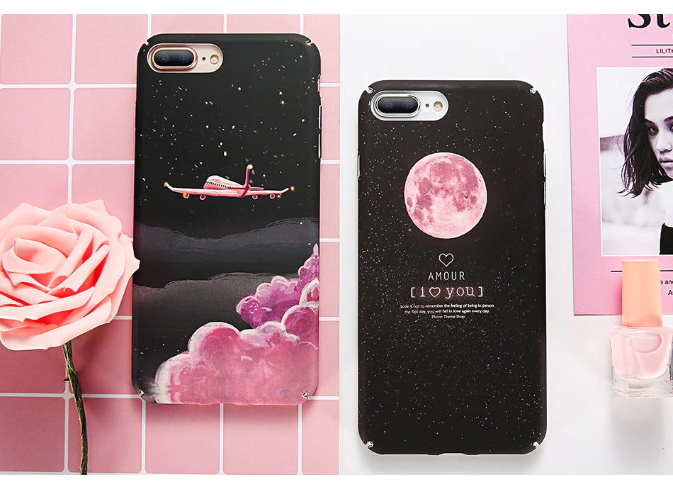 moon and stars iphone xs case
