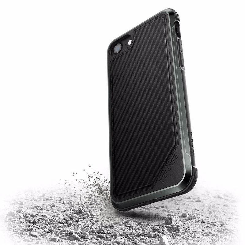 Premium Hybrid Military Grade Drop Protection Phone Case For iPhone 7 8 Plus Aluminum Frame With a Choice of Luxury Finishes For iPhone