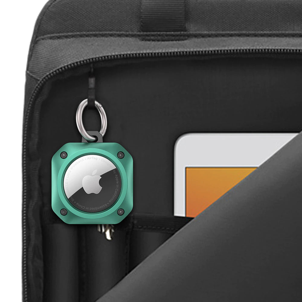 Protective Case For AirTag Locator Device Sturdy Shockproof Cover Constructed From Hard Silicon Keyring Case For Air Tag Tracker