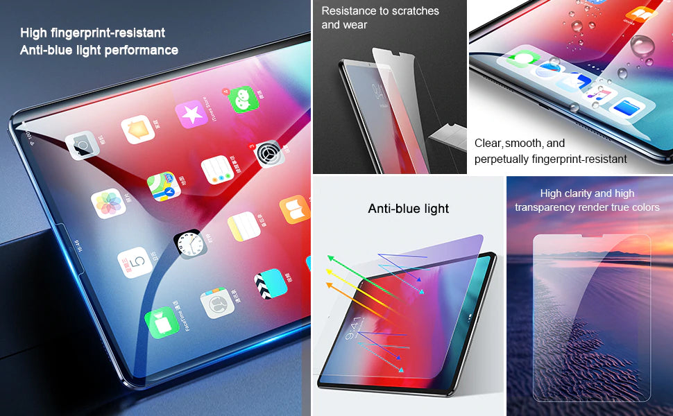 Protective Tempered Glass For Apple iPad Pro 11'' 12.9'' 2018 0.3mm Scratch Proof Tablet Glass For iPad Pro 2018 2019