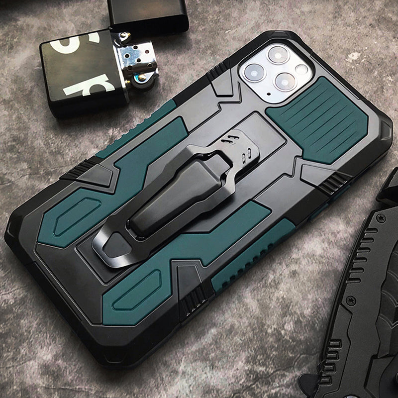 Rugged Shockproof Case For Apple iPhone 11 Pro Max XR XS X S 7 8 6 S 6S Plus 8Plus SE 2020 Latest Hybrid Armor iPhone Case With Stand And Belt Clip