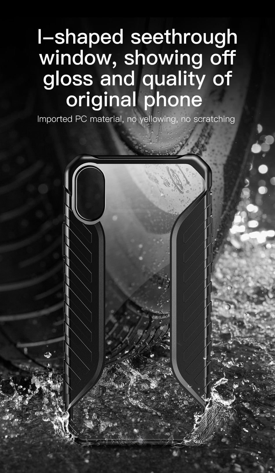 Rugged Stylish Protective Armor Case For iPhone XS Max XR XS XS Max Tire Texture Grip Soft Silicone Heavy Duty Fitted Case For iPhone XS Max