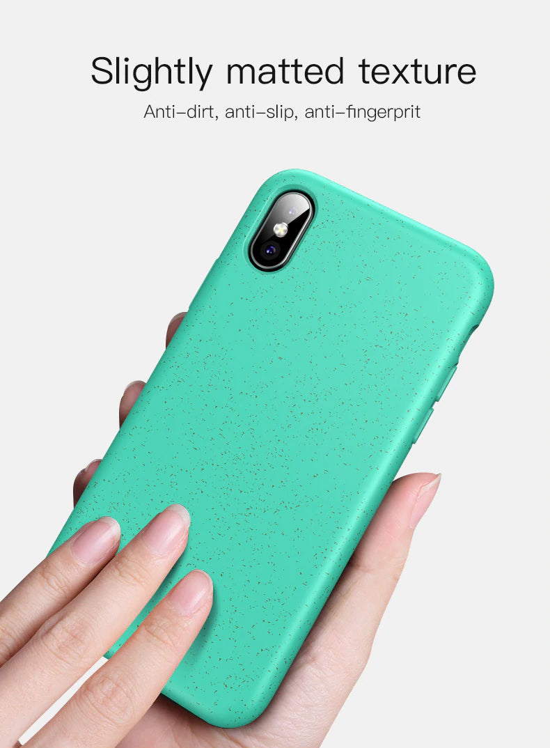 Shockproof Eco-friendly Soft Silicone Protective Case For iPhone X XS Max XR 8 7 Plus 6 6S 7 8 Plus Airbag Case Cover For iPhone TPU Case