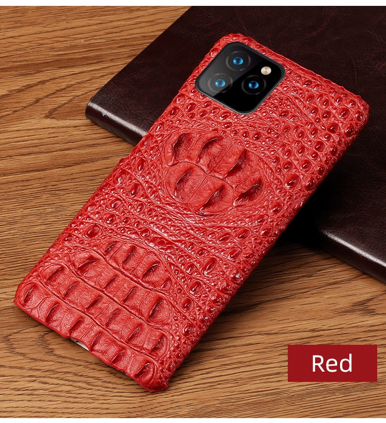 Stingray Phone Case Stylish Men's Half Wrapped 3D Phone Case For iPhone 11 Pro Max Genuine Leather Half Wrapped Case For iPhone 7 8 11 Xr XS Max