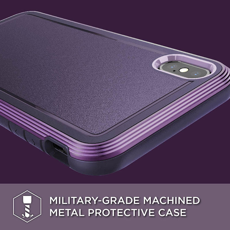 Stylish And Slim iPhone Case With Military Grade Drop-Protection Defense System Ultra Hybrid Aluminium Framed Phone Case For iPhone XR XS Max