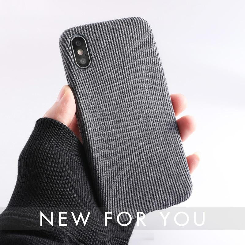 iphone xs max fabric case