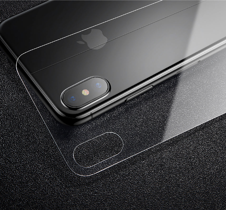 Transparent Back Protector For iPhone Xs Max Xr X S R Xs Max Tempered Glass Rear Protective Glass Film Scratch Proof Glass Skin For iPhone Xs