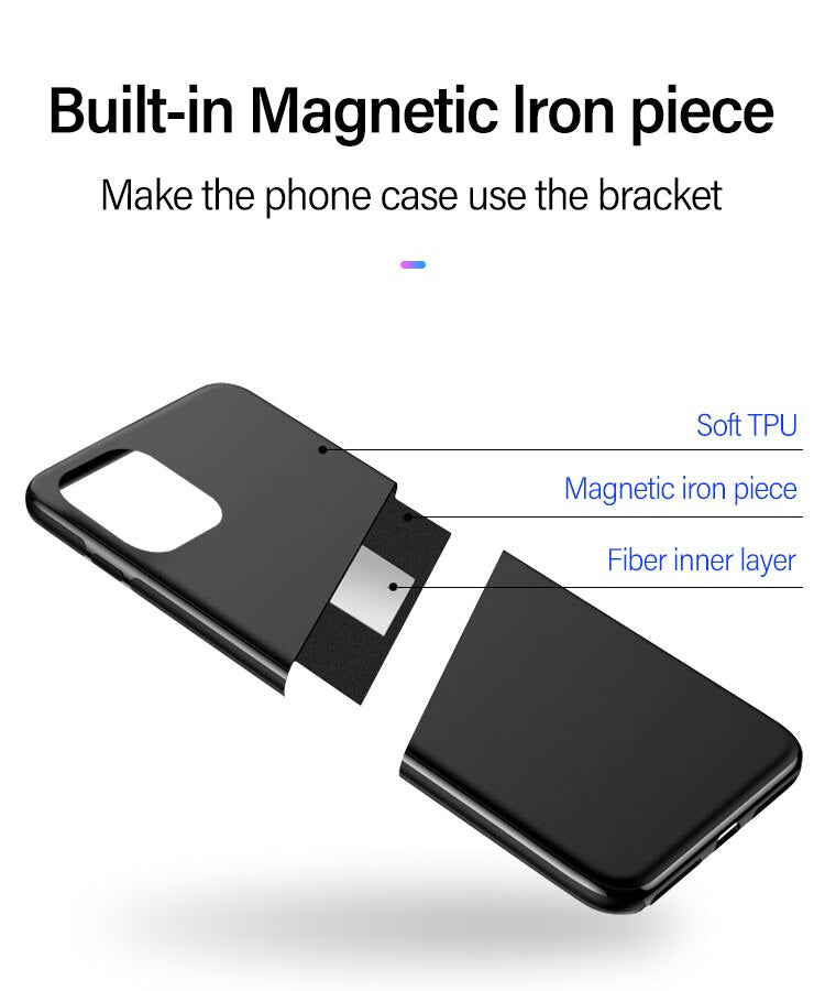 Ultra Slim Liquid Silicone Magnetic Phone Case For iPhone 11 Pro Max SE XS Max XR XS X 8 7 6s 6 Plus Soft Silicon Anti-Fingerprint Fitted Case For iPhone