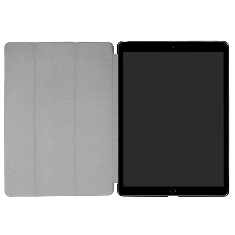 "Ultra Slim Tri-fold Smart Case for Apple iPad Pro 12.9"" Leather Folio Stand Tablet Cover Wake Up Case for iPad Pro 12.9"