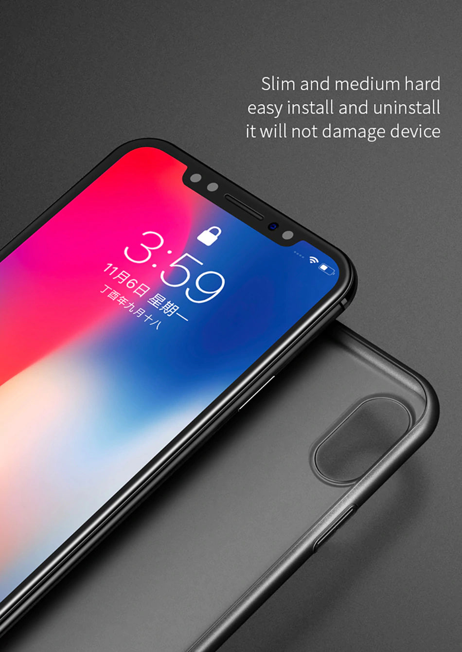Ultra Thin 0.4mm Luxury Phone Case For iPhone XS MAX XR X 10 8 7 Plus Case Precision Fit Anti Protective Transparent Back Cover For iPhone