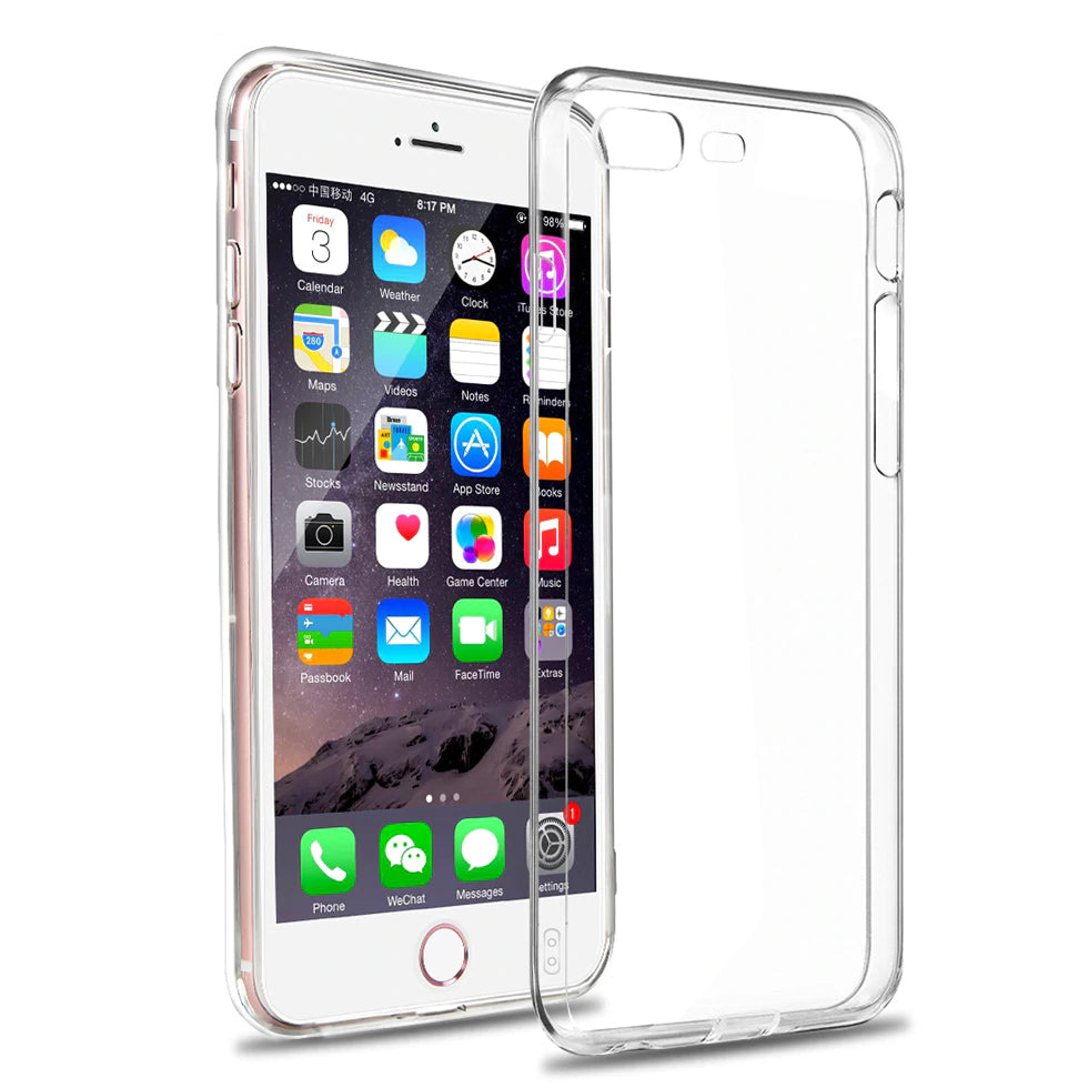 Ultra Thin Anti-Scratch Protective Transparent Case For iPhone X 8 7 Plus Clear Soft Flexible Gel Transparent Skin TPU Bumper Case for iPhone 6 6s Plus