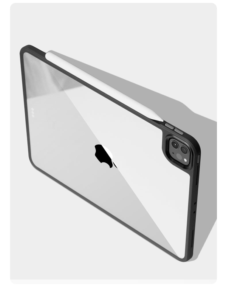 Ultra Thin Shockproof Protective Case For iPad Pro 11 12.9 Case 2020 Clear Back Cover For iPad Pro Case 11 inch With Built-In Camera Protection 4 Colors