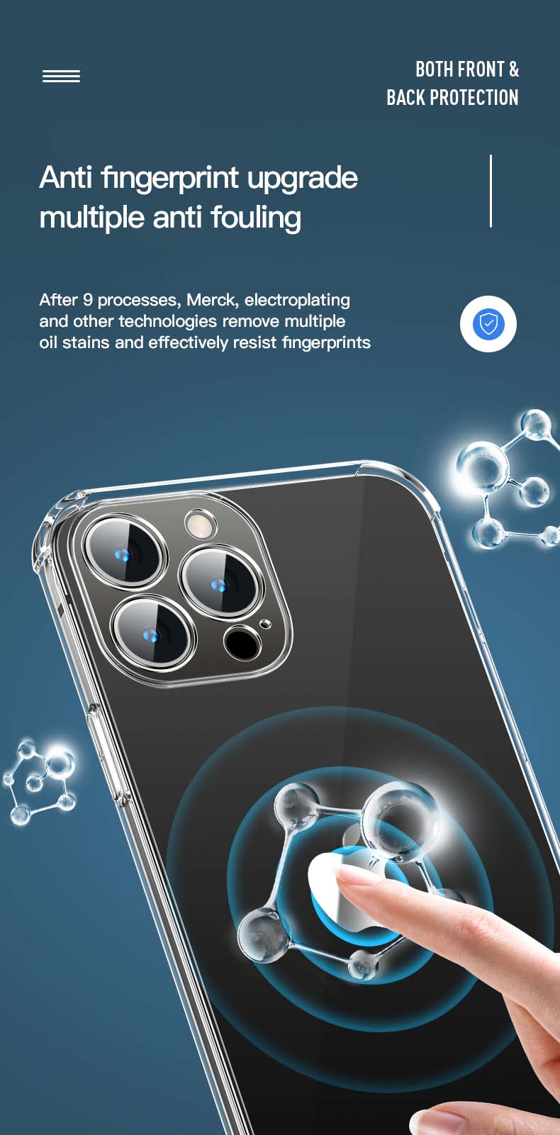 Ultra Thin Transparent Case For iPhone 13 Mini 13 Pro 13 Pro Max Soft TPU Case With AirBag Corner Protect And Full Lens Protection