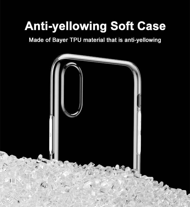 Ultra Thin Transparent Case For iPhone X Dirt Resistant Case High Transparency Soft Silicone Fitted TPU Case For iPhone X Cover