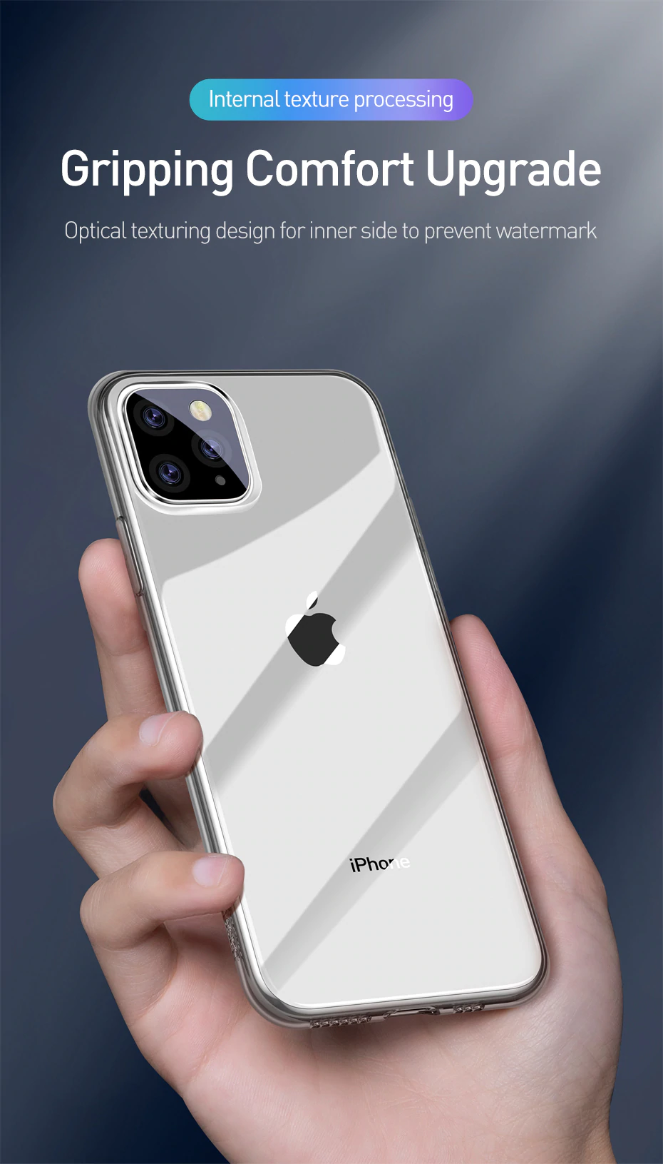 Ultra Thin Transparent Protective Case For iPhone X XR XS XS MAX Clear Silicon Soft TPU Slim Fitted Clear Case For iPhone 11 Pro Max