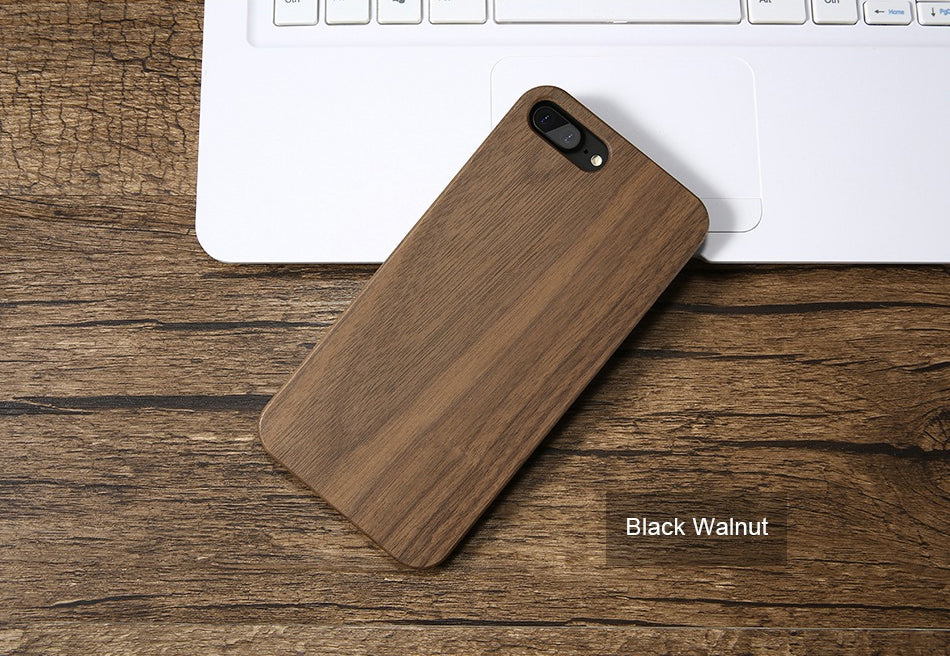 Vintage Retro Wood Cover For iPhone 7 iPhone X XR XS MAX Case Wooden Phone Cases For iPhone 8 6 6S Plus 5S SE 5 Wood Phone Cover