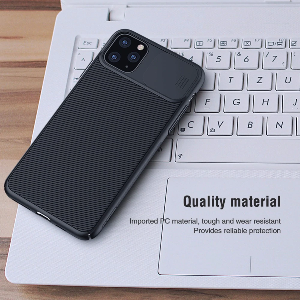 iPhone 11 Pro Max Camera Protection Case For iPhone 11 Pro Max Slide To Protect Lens Cover Feature Protective Fitted Case For iPhone 11