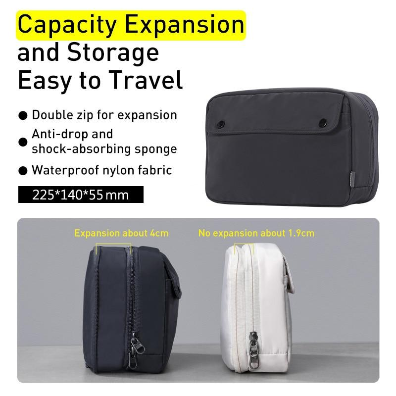 iPhone Kit Bag Gadget Storage Case For iPhone Portable Digital Devices Storage Bag Waterproof Fabric Travel Bag Phone Universal Phone Bag Pouch