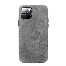 Load image into Gallery viewer, ALCANTARA Suede Luxury Business Phone Case For iPhone 11 Pro Max Phone Case Fashion Leather Full-Protection Suede Phone Cover