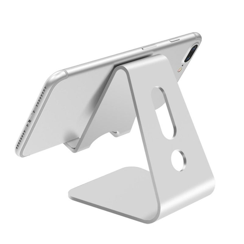 Aluminium Alloy Mobile Phone Holder iPad Stand Metal Tablet Stand Universal Holder for iPhone X/8/7/6/5 Plus iPhone / iPad