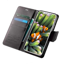 Load image into Gallery viewer, Colorful Hand Made Soft Leather Wallet Case For Apple iPhone X 8 Plus 7 Plus 6 6s Plus Business Card Holder Phone Case For iPhone 5 5s SE PU Flip Cover