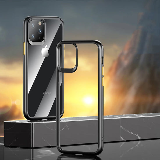 Crystal Clear Guard Pro Hybrid Case For 2019 iPhone 11 iPhone 11 Pro Max Case Soft Silicon Bumper Clear Glass Case iPhone 11 Pro Clear Cover