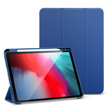 Load image into Gallery viewer, Flexible Soft TPU Back Cover Case for 2020 iPad 8th Gen iPad Air4 iPad Pro 11'' 12.9'' Inch Soft TPU Smart Case With Pencil Holder Case For iPad Pro 12.9""