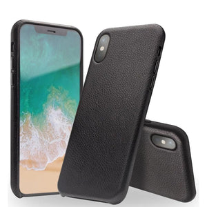 Genuine Real Leather Phone Case for iPhone XS Ultra Thin Back Case Handmade Leather Protective Case for iPhoneXS for 5.8 inch