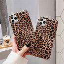 Leopard Fashion Chic Style Case For iPhone 11 Pro XS Max XR X 6 6S 7 8 Plus iPhone 7 Shock-Proof Soft Case Cover For iPhone