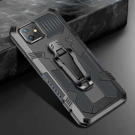 Luxury Hybrid Armor Case With Belt Clip For iPhone 12 11 Pro Max XR XS X R 7 8 Plus 8Plus 7Plus iPhone 12 12 Pro Fitted Rugged Shockproof Case