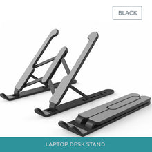 Load image into Gallery viewer, MacBook Desk Stand Adjustable Height Non-Slip Universal Laptop Stand For Raising The Laptop On Table To Improve Posture Also Suitable For Tablets & Notebooks