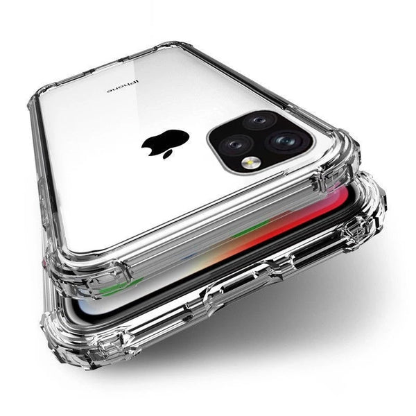 Max Protection Heavy Duty Transparent Case For iPhone 11 Pro Max X XS Max Strengthened Corners Clear Silicon Case For iPhone XR 6 6S 7 8 Plus
