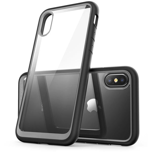 Premium Hybrid Case For iPhone X XS Anti Shock TPU Bumper + Protective PC Scratch Resistant Clear Back Cover Case For iPhone X Xs 5.8 inch