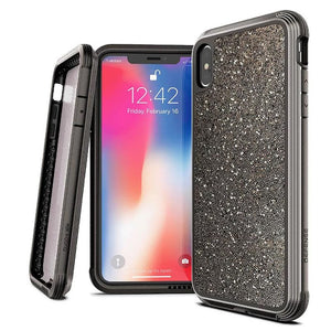 Premium Hybrid Case Rugged With a Touch of Glamour Phone Case For iPhone XR XS Max Defense Lux Military Grade Drop Tested Case