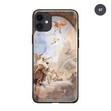 Load image into Gallery viewer, Renaissance Art Phone Case For iPhone SE 6 6s 7 8 Plus X XR XS 11 PRO MAX Famous Italian Fresco Paintings Soft Silicone Case Fitted Case Cover For iPhone XS MAX