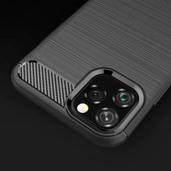 Smart Carbon Fiber Design Business Case For 2019 iPhone 11 Pro Case For iPhone 11 10S Xs Max 5 5S Se X Xr 10 6 6S 7 8 Plus iPhone Case