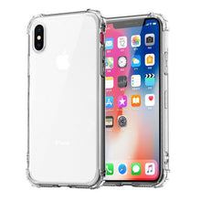Load image into Gallery viewer, Max Protection Heavy Duty Transparent Case For iPhone 11 Pro Max X XS Max Strengthened Corners Clear Silicon Case For iPhone XR 6 6S 7 8 Plus