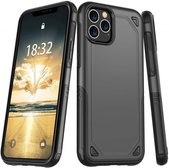 Military Hybrid Slim Rugged Armor Case For iPhone X XS 11 Pro Max XR 7 8 6 6S Plus PC+TPU Case Protective Shockproof iPhone Cover