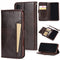 Flip Leather Card Holder Phone Case for iPhone X XR Xs Max 5 5S SE 6 6S 7 8 Plus Wallet Case With Card Slots For iPhone 11 11 Pro Max