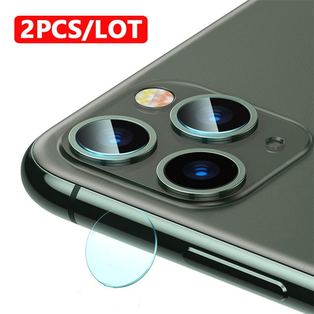 Ultra Thin 0.15mm Glass Film Camera Lens Protectors For iPhone 11 Pro Max Scratch Proof Back Camera Lens Protection Film