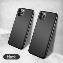 Load image into Gallery viewer, Ultra Slim Liquid Silicone Magnetic Phone Case For iPhone 11 Pro Max SE XS Max XR XS X 8 7 6s 6 Plus Soft Silicon Anti-Fingerprint Fitted Case For iPhone